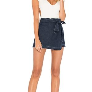 PAIGE ANETTE DENIM SKIRT SIZE SMALL
